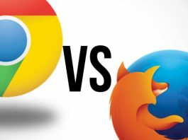 google chrome vs firefox