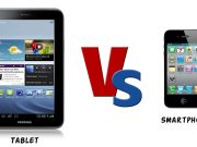 perbandingan Smartphone vs tablet