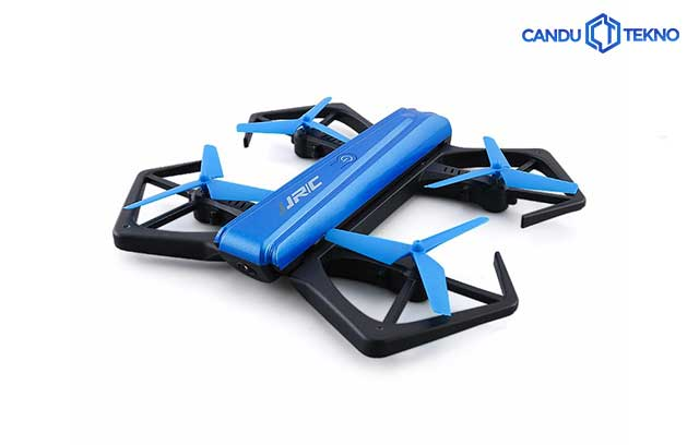 JJRC Foldable Drone With One-Key Folded In Half H43WH