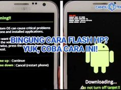 cara flash hp