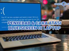 cara atasi blue screen