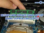 Cara Update RAM